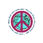 """""""Christian Peace Sign"""" is in Anti-War"""