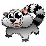 Cartoon Raccoon