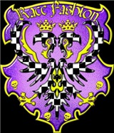 Race Fashion Coat of Arms Purple
