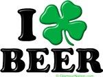 I love (shamrock) BEER
