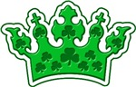 Green Clover Crown