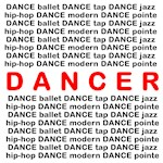 Dancer Block Words