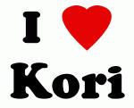 I Love Kori