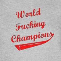 World Fucking Champions, Red Text
