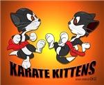 Karate Kittens Calendar Print
