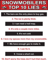 Top Ten Lies Tee