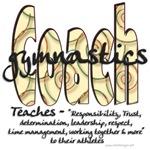 Gymnastics Coach Spiral Pattern