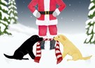 Labrador Dog Christmas - 20 CARDS