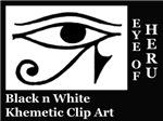 Khemetic/Egyptian Clip Art