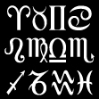 Zodiac Sign Symbols