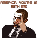 America #1 With Obama