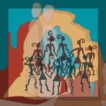 Ancient Bowlie Dancers on Location