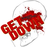 Get Down Jiu Jitsu shirts - skull design