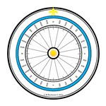 Fair Weather Home Compass Rose