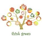think green enviro tree