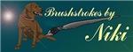 Brushstrokes by Niki Merch