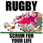 Scrum For Your Life Rugby