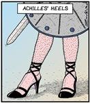 Achilles' heels