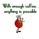 Ladybug Coffee Lover
