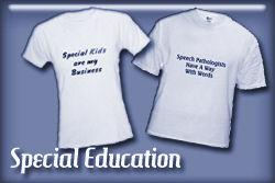 Special Education T-shirts and Gifts