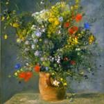 Renoir Flowers in Vase