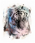Painted Pastel Tiger