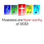 Musicians note worthy of God