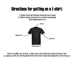 T-Shirt Directions (Men)