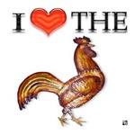 I HEART THE COCK
