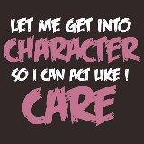 Like I Care Pink-White