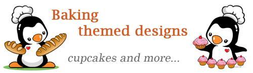 Baking themed designs
