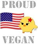 Proud Vegan American Flag