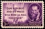 Pulitzer Stamp
