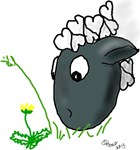 Cartoon Ewes
