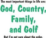 Golf Priority