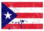 Puerto Rican Flag (Punk)