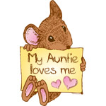 Mouse Love Auntie