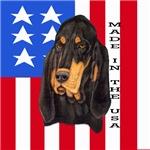 Patriotic Black & Tan