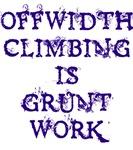 Offwidth Climbing