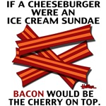 If a Cheeseburger were an Ice Cream Sundae