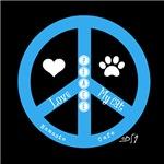 Peace, Love, My Cat (my Dog)