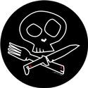 Dark Foodie Skull