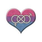Bisexual Pride Heart