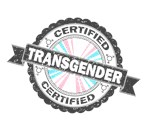 Certified Transgender Stamp