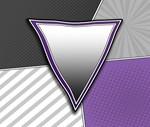 Halftone Demisexual Pride Symbol