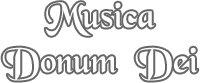 Musica Donum Dei