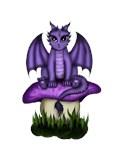 Dragon on Mushroom