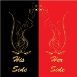 His and her side