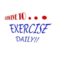 I Resolve To . . . Exercise!