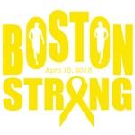 Boston strong yellow ribbon
